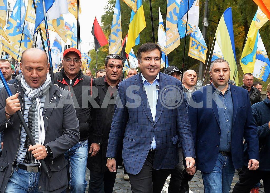 Saakashvili and his supporters — Image 63615