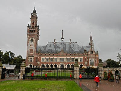 Peace Palace on Carnegie Square