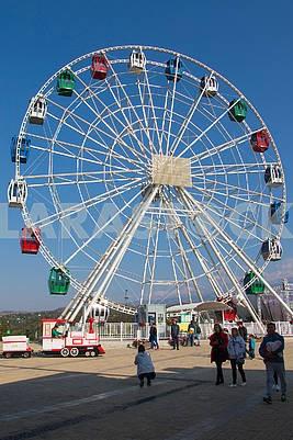 The Ferris Wheel in Almaty
