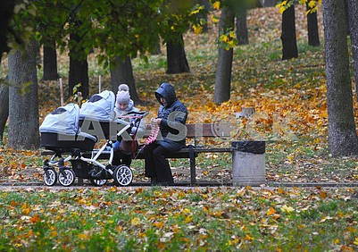 Women with stroller