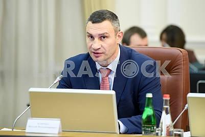 Vitali Klitschko, the mayor of Kiev