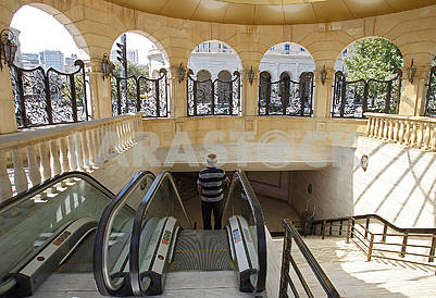Underground passage to Baku