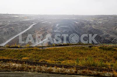 Карьер по добыче железной руды