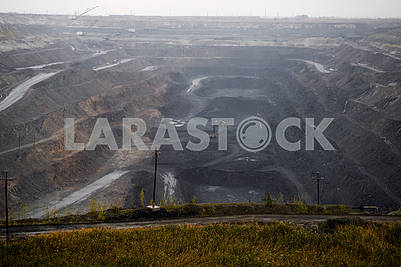 Quarry for the extraction of iron ore