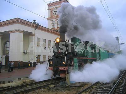 Retro locomotive