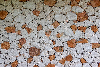 Стена дома на Занзибаре