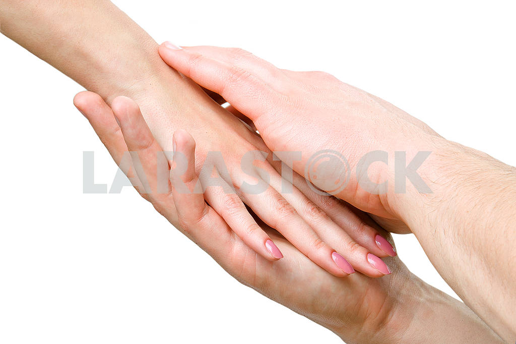 Man and woman hands — Image 64426