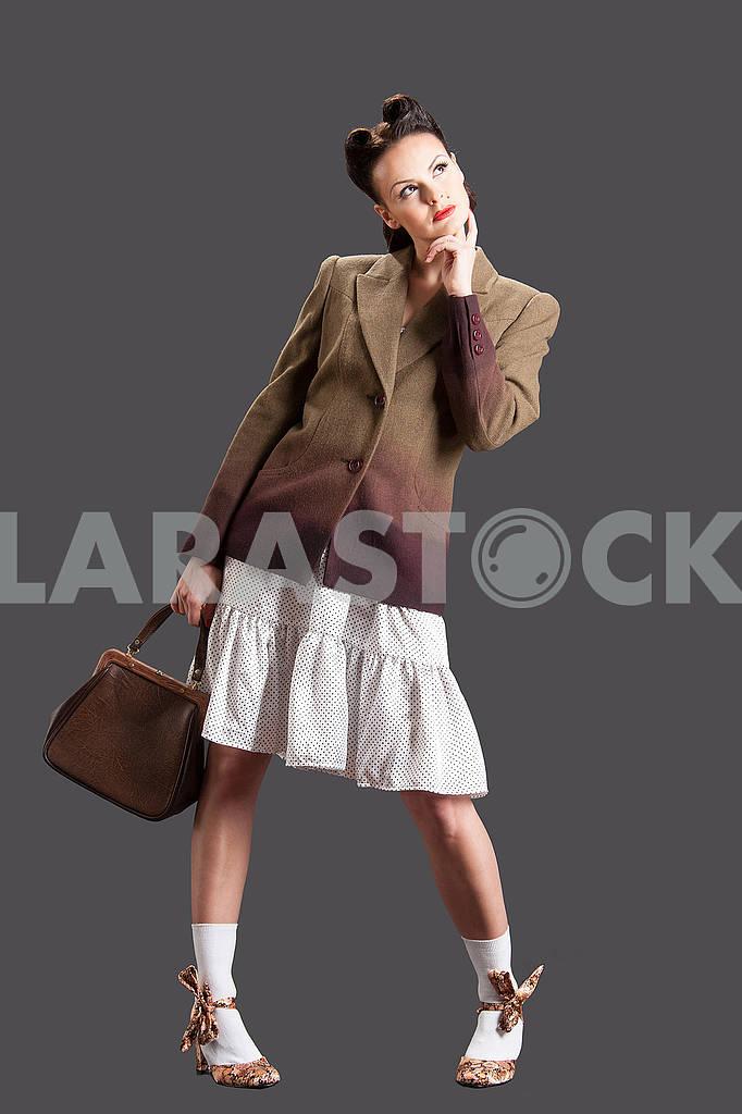 Cute model with handbag — Image 64427