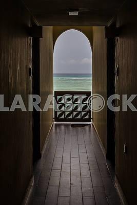 Интерьер гостиницы на Занзибаре