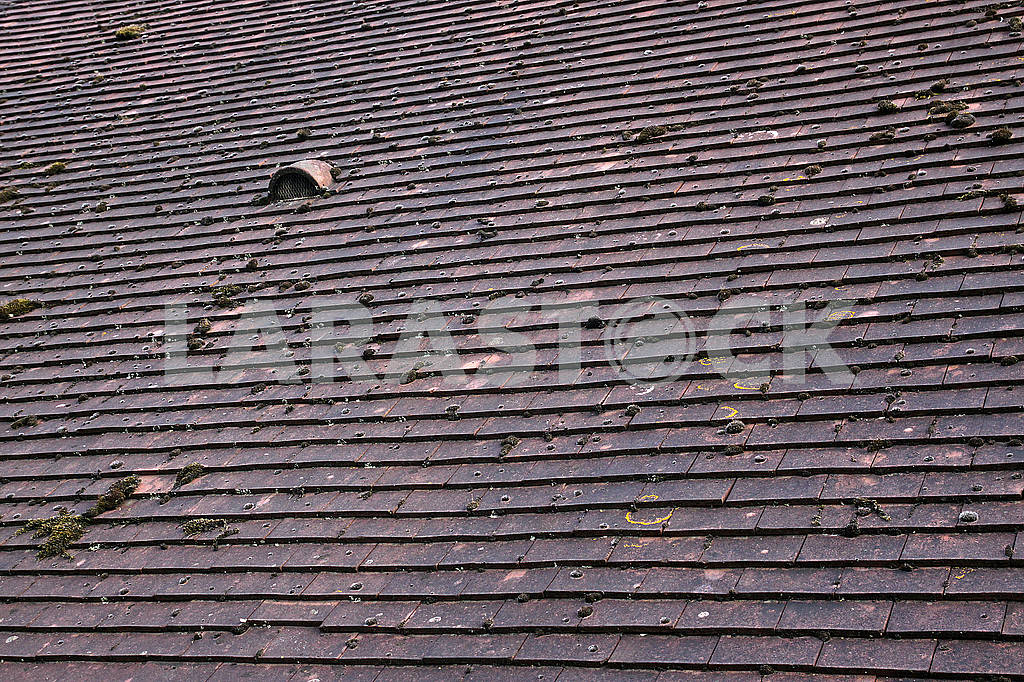 Tiled roof with small window — Image 64541