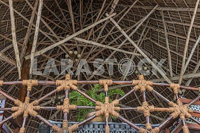Крыша гостиницы на Занзибаре