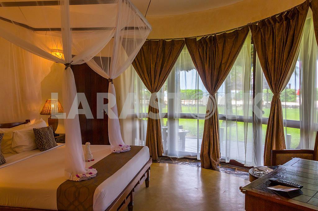 Bedroom in a hotel in Zanzibar — Image 64591