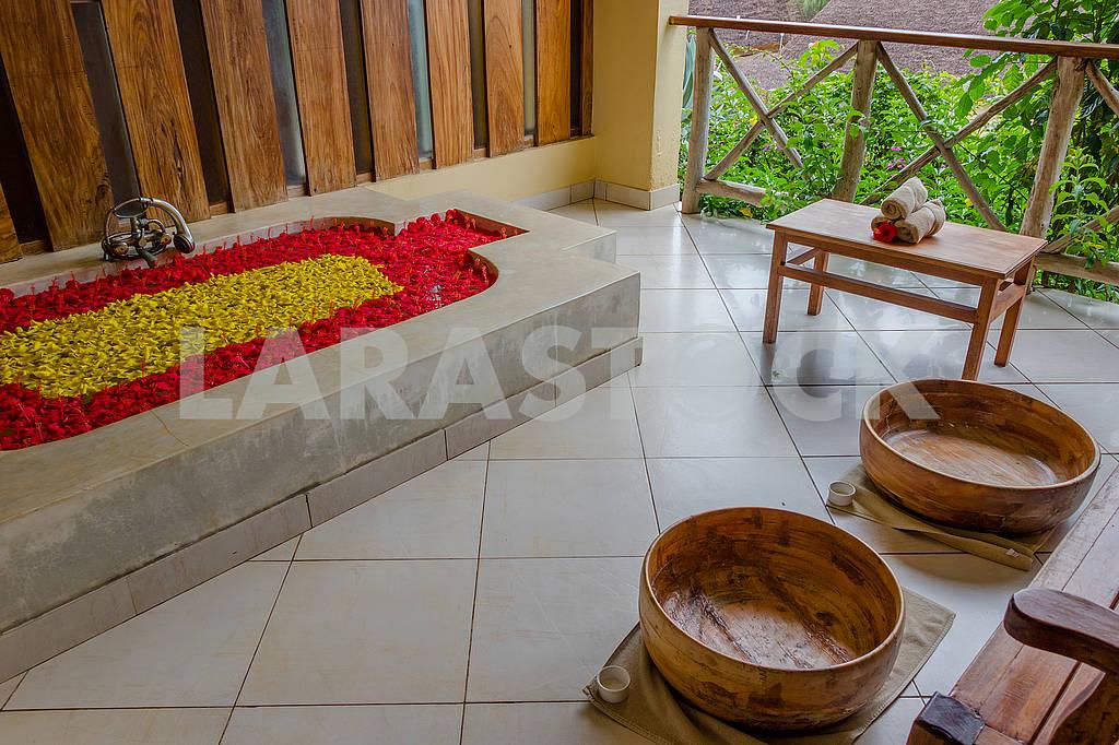 Hotel Interior in Zanzibar — Image 64600