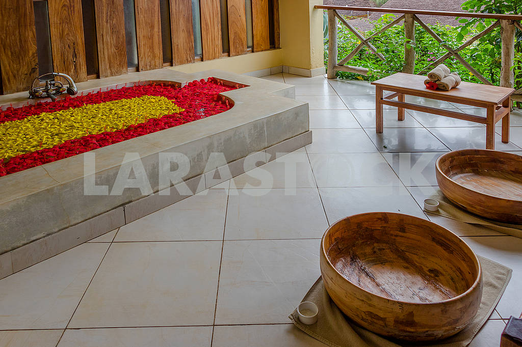 Hotel Interior in Zanzibar — Image 64601