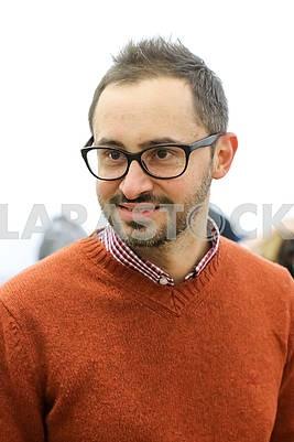 Pavel Gudimov, gallery owner, musician