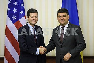 Весс Митчелл и Владимир Гройсман