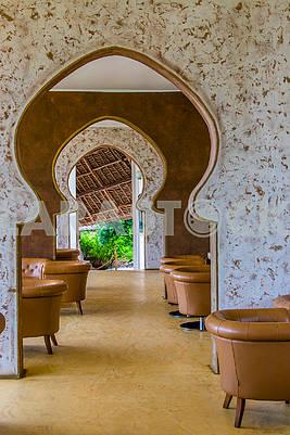 Hotel Interior in Zanzibar