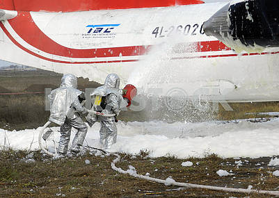 Training of firefighters in Kherson