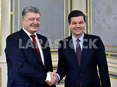 Petr Poroshenko and Vess Mitchell