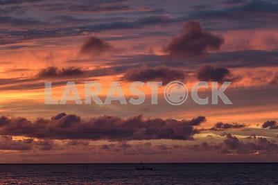 Вид на Индийский океан