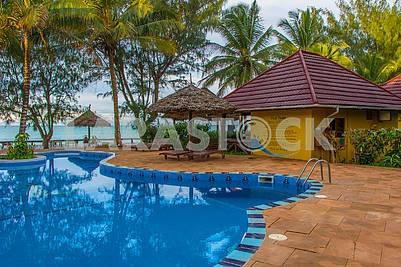 Pool near the hotel