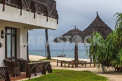 Beach near the hotel