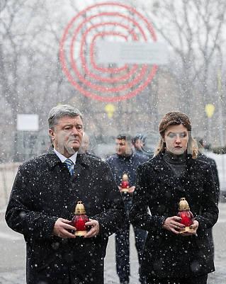 Петр Порошенко и Марина Порошенко