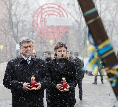 Petro Poroshenko and Marina Poroshenko