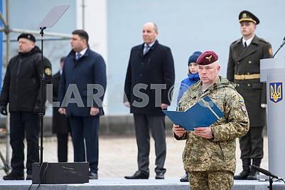 Mikhail Zabrodsky - Commander of the DSV