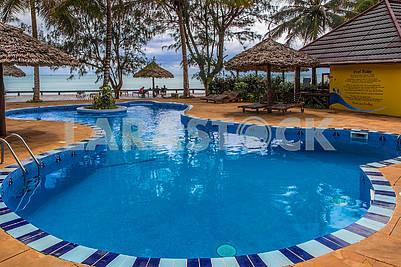 Swimming pool near the hotel