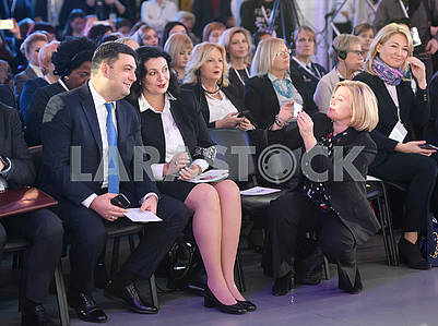 Vladimir Groysman, Ivanna Klimpush-Tsitsnade, Irina Gerashchenko