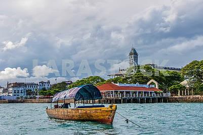 Port in Zanzibar