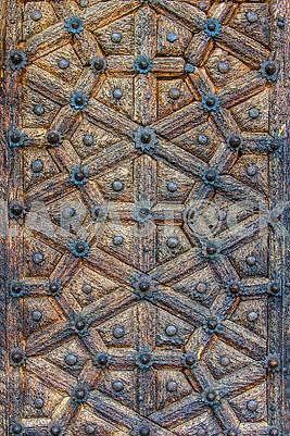 Fragment of the door