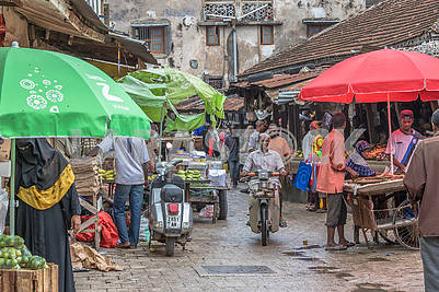 Bazaar in Zanzibar