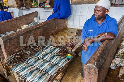 Торговец рыбой