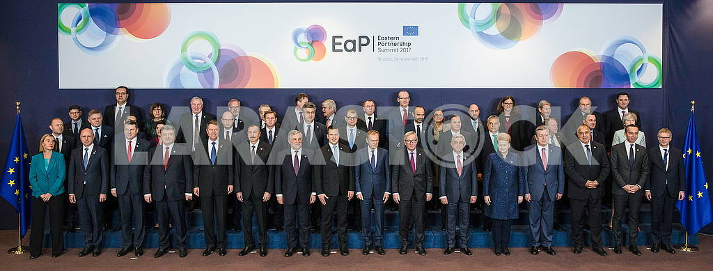 Participants of the Eastern Partnership Summit
