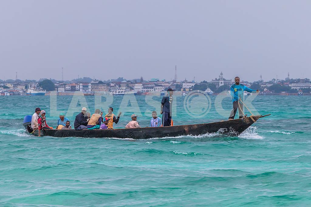 Fishermen in the Indian Ocean — Image 65618