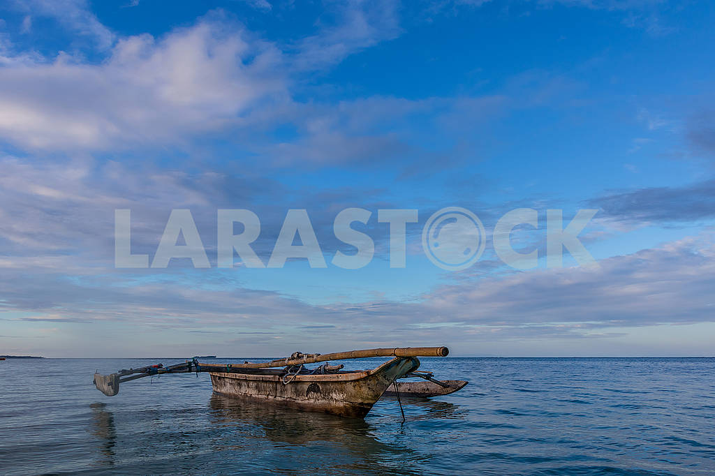 Boats in the Indian Ocean — Image 65619