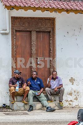 Жители города Занзибар