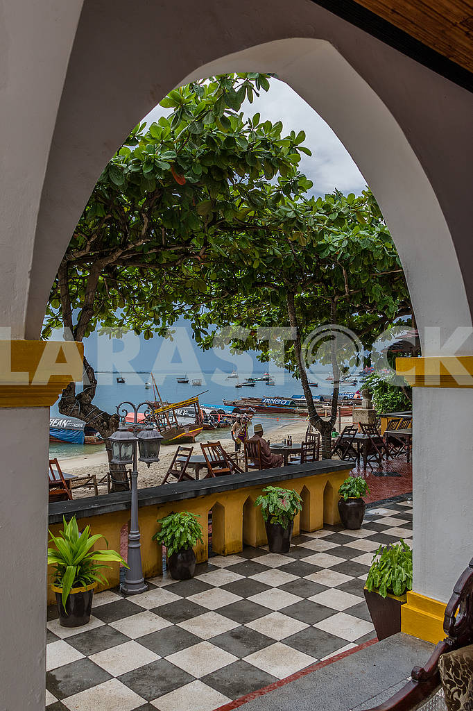 Arch in the hotel — Image 65654