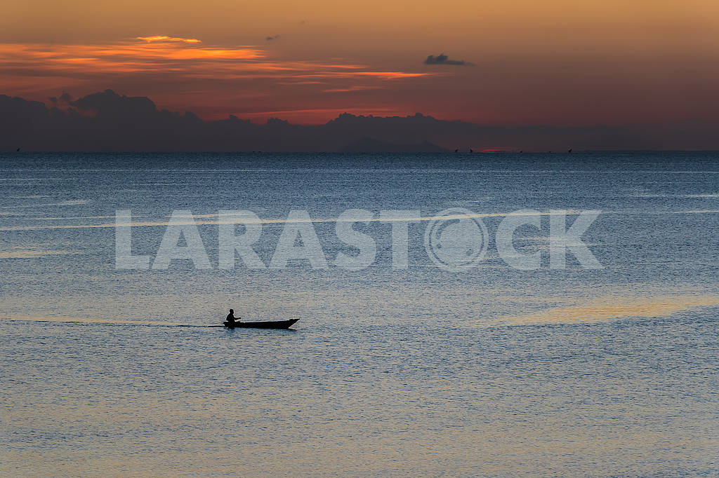 Evening in the Indian Ocean — Image 65710