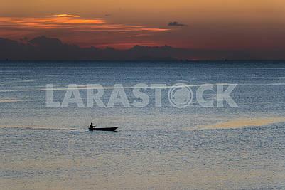 Evening in the Indian Ocean