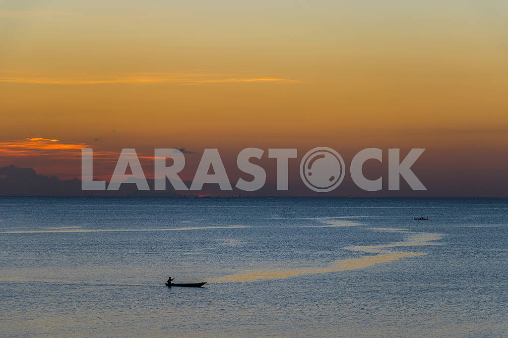 Boats at the coast of Zanzibar — Image 65711