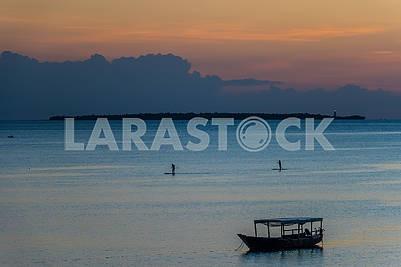 Twilight in the Indian Ocean
