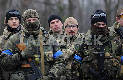 Servicemen - participants of the exercise