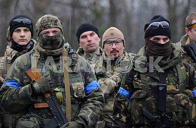 Военнослужащие - учасники учения