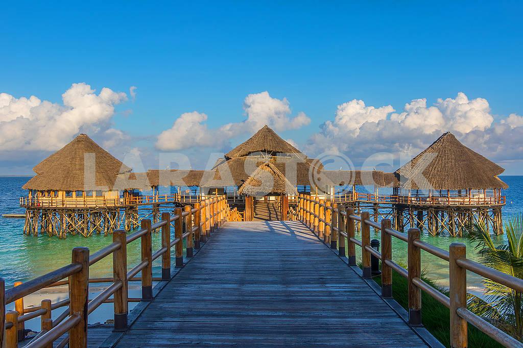 Pier in Zanzibar — Image 65768