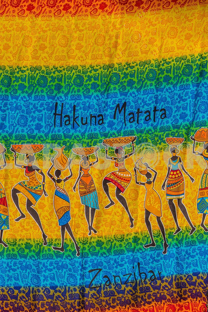 Женский платок в Занзибаре — Изображение 65860