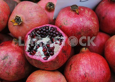 Fruits of pomegranate