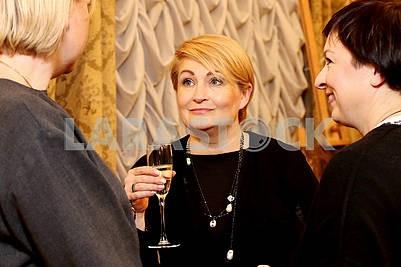 Irina Danilevskaya, founder and chairman of the organizing committee of Ukrainian Fashion Week